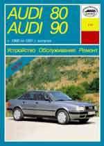 AUDI 80/90 1986-1991 гг. Руководство по ремонту и техническому обслуживанию